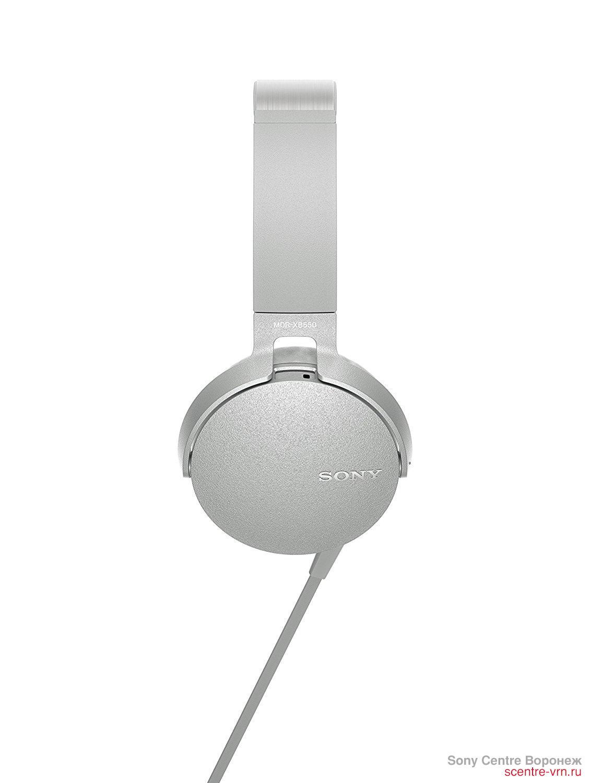 Купить Sony MDR-XB550APW в Sony Centre Воронеж