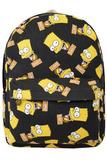 Рюкзак Барт Симпсон черный