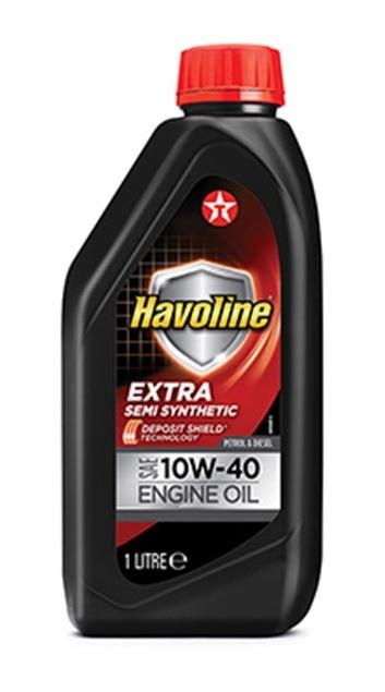 HAVOLINE EXTRA 10W-40 моторное масло TEXACO 1 литр
