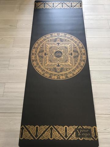 Каучуковый коврик для йоги Tibet Mandala 183*65*0,4 см