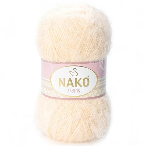 Пряжа Nako Paris 1204 светлый кремовый