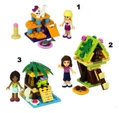 Minifigures Girl Friends Blocks Building