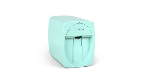 Принтер для ногтей O2Nails M1 Mint (мятный, цвет Тиффани)