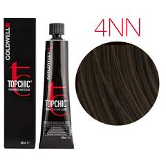 Goldwell Topchic 4NN (средне-коричневый - экстра) - Cтойкая крем краска