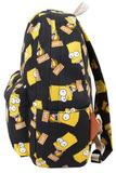 Рюкзак Барт Симпсон черный фото