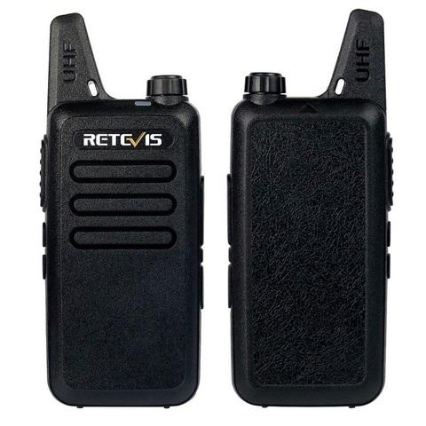 Рация Retevis RT-22 комплект 2 рации