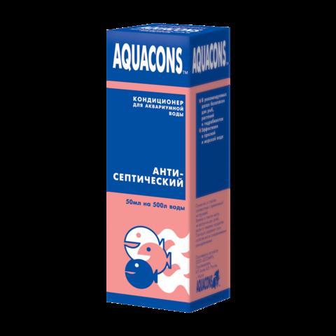 Зоомир Акваконс Антисептический Кондиционер для воды
