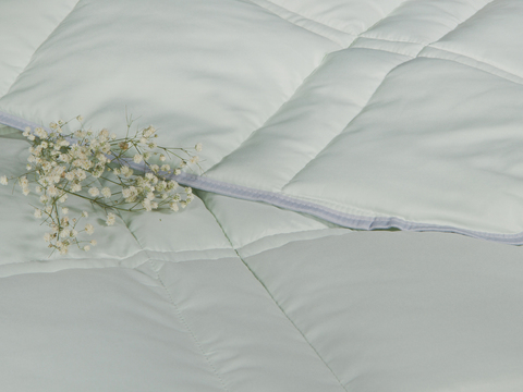 Одеяло CASABEL/Силикон зеленый, 150 gr/m2