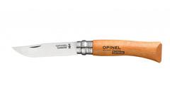 Нож Opinel №6, нержавеющая сталь, бук, блистер