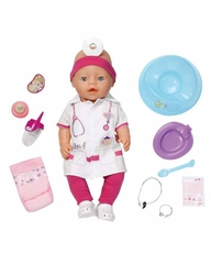Кукла Доктор Zapf Creation Baby born 820-421 Бэби Борн Интерактивная, 43 см