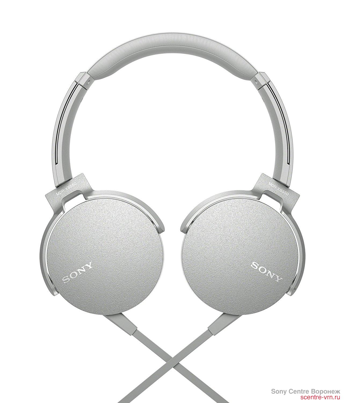 Наушники Sony MDR-XB550APW купить в Sony Centre Воронеж