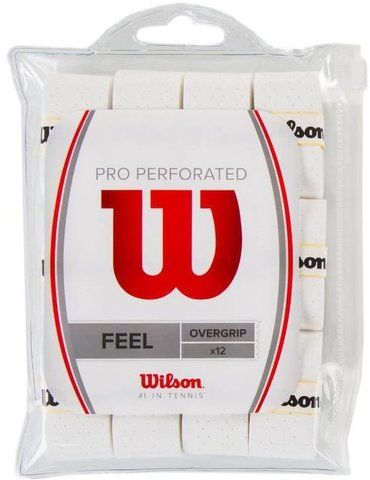 Намотки теннисные Wilson Pro Overgrip Perforated / WRZ4006WH