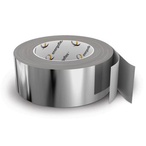 Лента армированная самоклеящаяся Energoflex шириной 50 мм - длина 50 м (цвет алюминий)