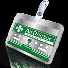 Air Doctor бейдж для взрослых на прищепке - ВирусСтопер в виде бэйджика (1 мес)