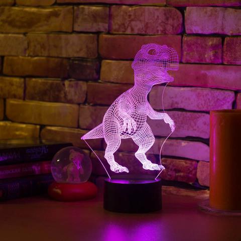 3D светильник Тираннозавр Рекс