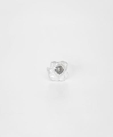 Моно-серьга Diamond Rain silver (S)
