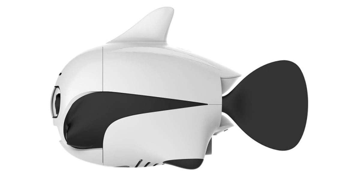 Подводный дрон RoboSea BIKI V1.0 белый сбоку