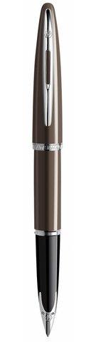 Перьевая ручка Waterman Carene, цвет: Frosty Brown Lacquer ST, перо: F