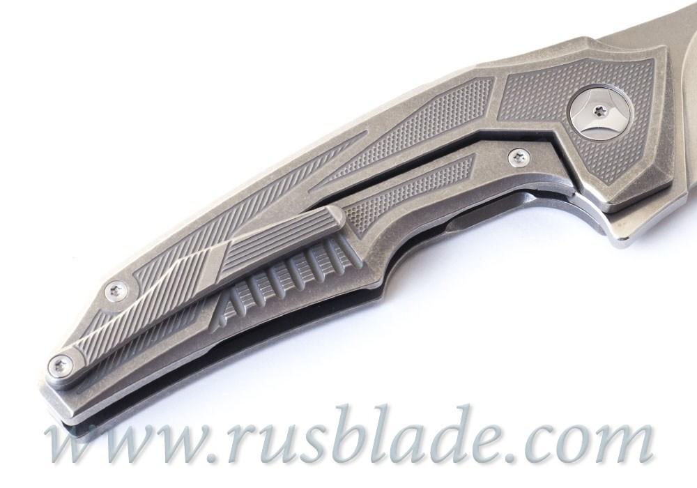 Muscle PROTOTYPE CKF and Tashi Bharucha NEW Knife