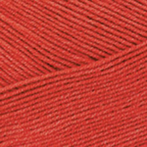 Пряжа Cotton Soft (Коттон софт) Красно-оранжевый. Артикул: 26