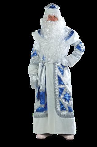 Дед Мороз серебряно - синий