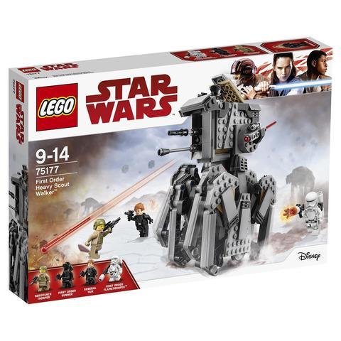 LEGO Star Wars: Тяжелый разведывательный шагоход Первого Ордена 75177 — First Order Heavy Scout Walker — Лего Звездные войны Стар Ворз