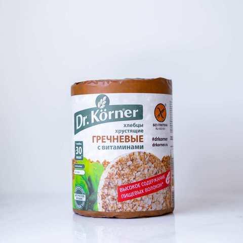 Хлебцы гречневые с витаминами Dr Korner, 100 гр