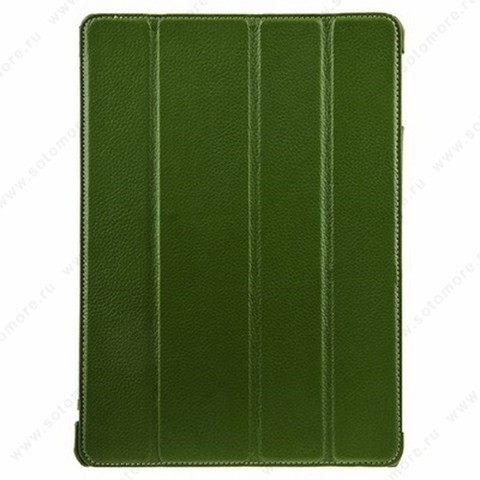 Чехол-книжка Melkco для Apple iPad Air 1 Leather Case Slimme Cover Ver.1 (Green LC)
