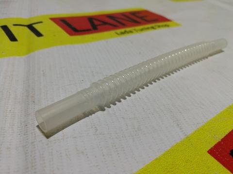 Топливная трубка бензонасоса, пластиковая, гофрированая (180 мм)