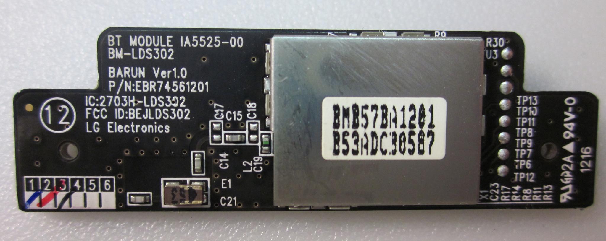 EBR74561201 Bluetooth BT control module