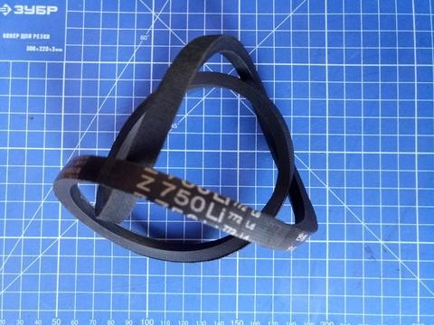 Ремень привода колес газонокосилки DDE клиновой 10x750Li (772Lw) модели WYZ18/WYZ18H2-13 (1812003)
