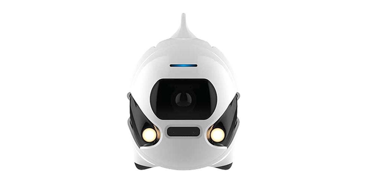 Подводный дрон RoboSea BIKI V1.0 белый вид спереди
