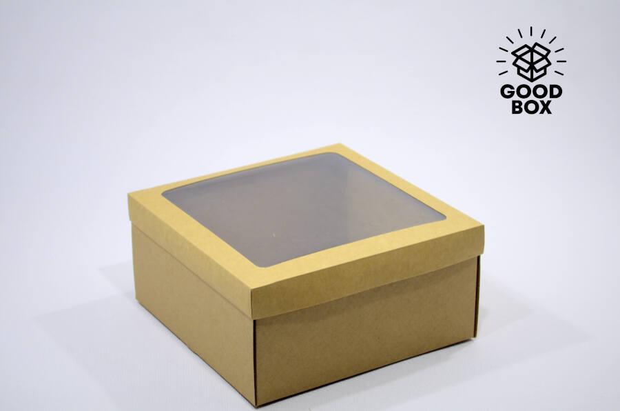 Коробка с окошком купить в Казахстане