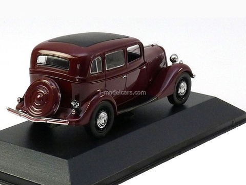 GAZ-M1 dark red 1942 IST152 IST Models 1:43