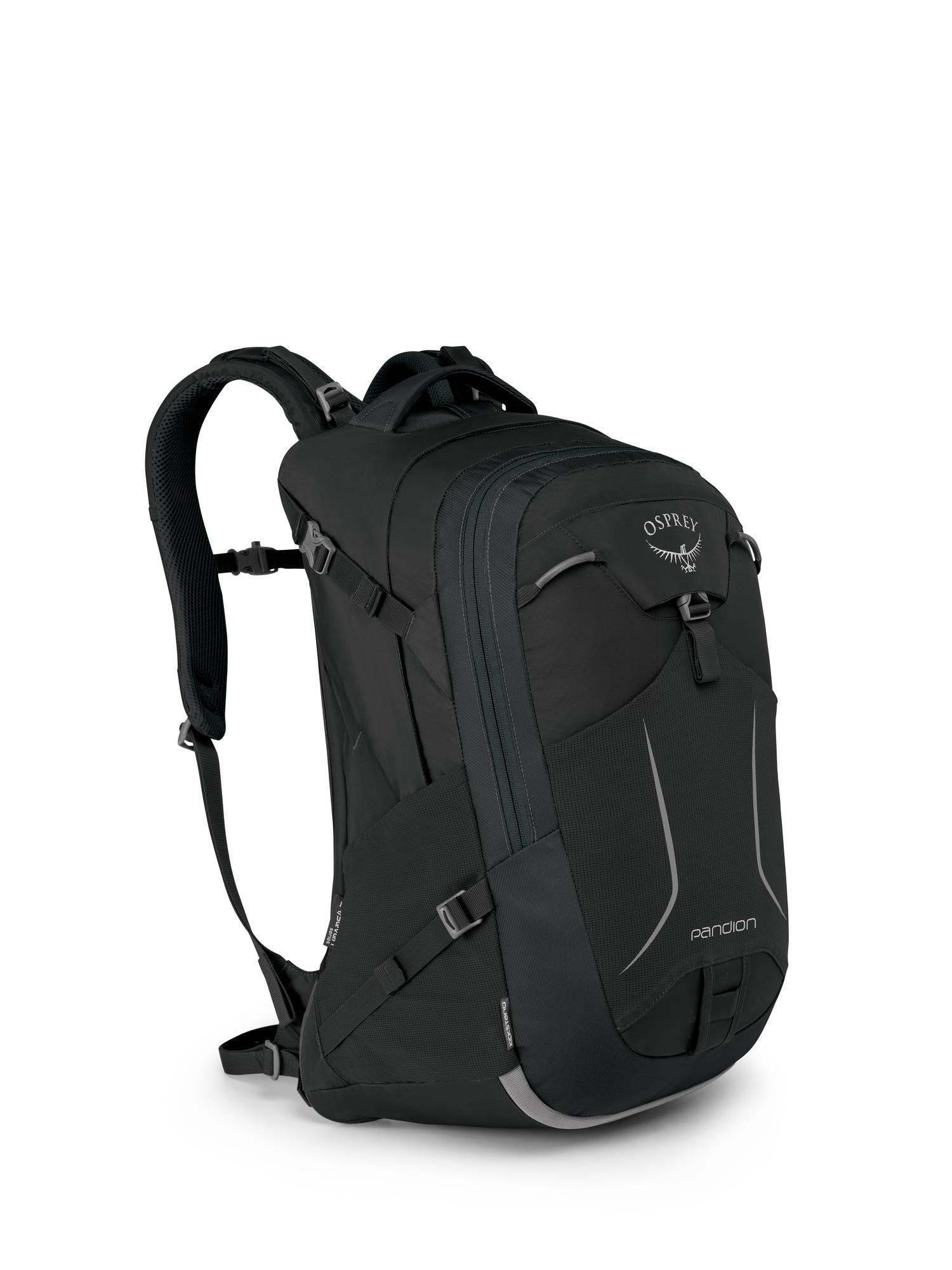 Городские рюкзаки Рюкзак городской Osprey Pandion 28 Black Pandion_F17_Side_Black_web.jpg