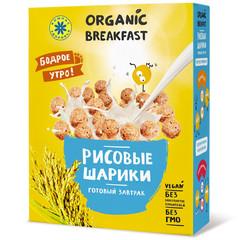 Компас здоровья завтрак сухой рисовые шарики 100г