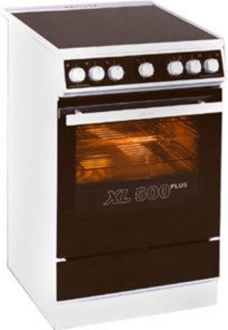 Электрическая плита шириной 50 см Kaiser HC 52010 W Moire