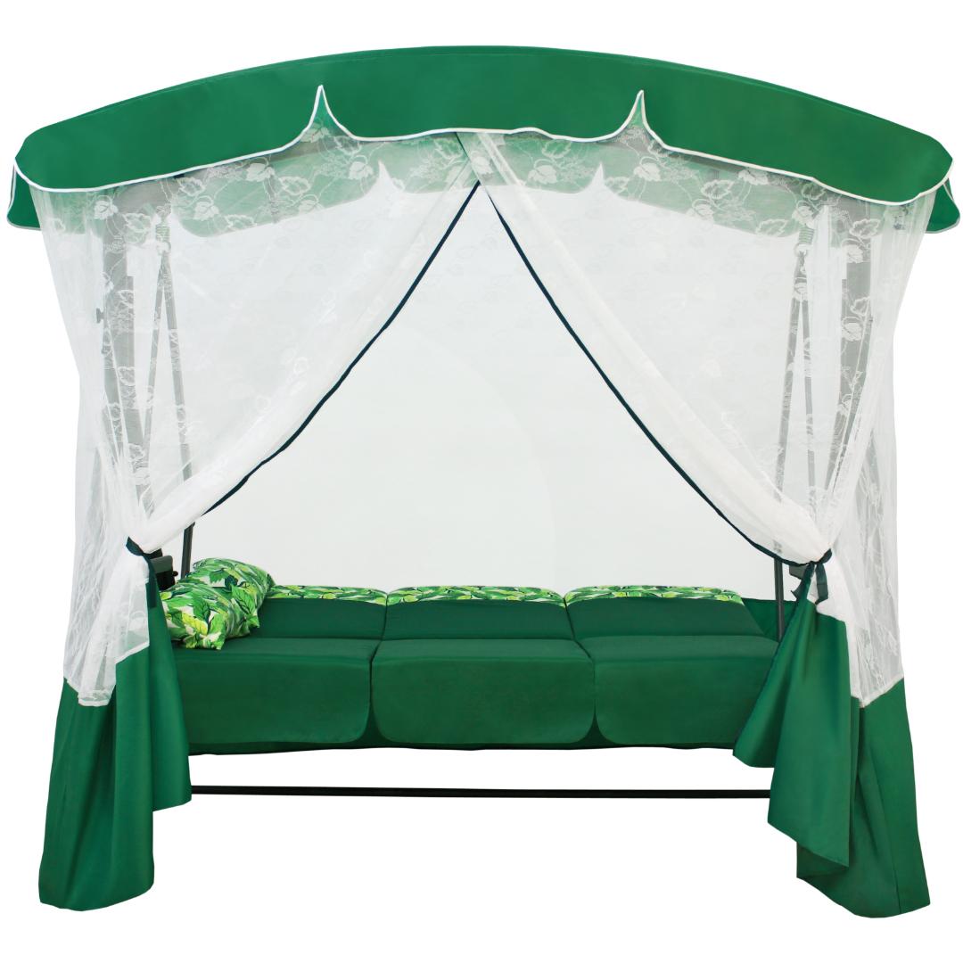 Артемида зеленая кровать