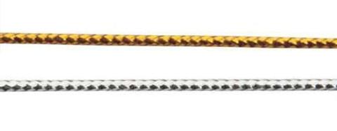 Шнур отделочный, металлизированный 1 мм. (выбрать цвет)