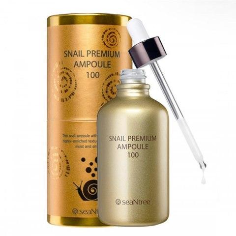 Премиальная ампульная сыворотка с муцином улитки, 100 мл / SeaNtree Snail Premium Ampoule