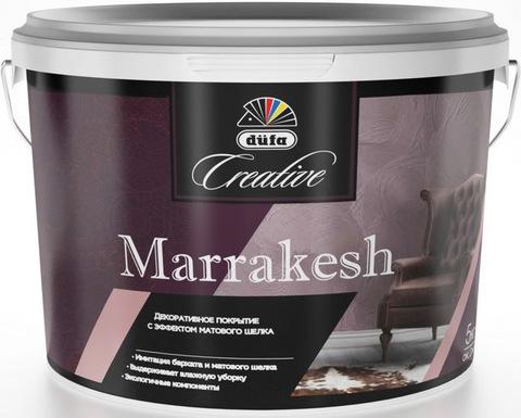 Dufa Creative Marrakesh/Дюфа Креатив Марракеш Декоративное покрытие с эффектом Матового шелка
