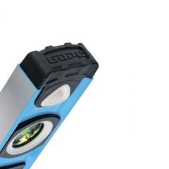 Уровень алюминиевый, двуручный, 1500 мм, профиль 1,6 мм, фрезеров, ударопрочные заглушки, 3 глазка Барс