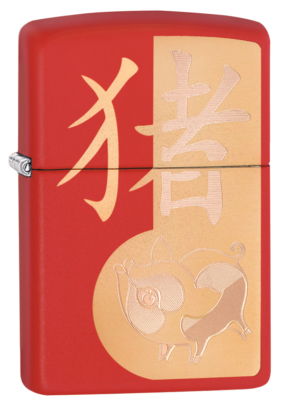 Зажигалка Year of the Pig Design ZIPPO ZP-29661