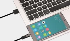 Переходник Xiaomi с Micro USB на Type-C