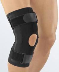 Укороченный полужесткий коленный ортез protect.ST PRO
