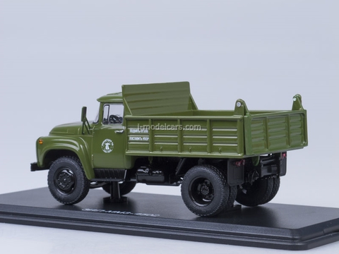ZIL-MMZ-4502 tipper later grille metal body khaki Start Scale Models (SSM) 1:43