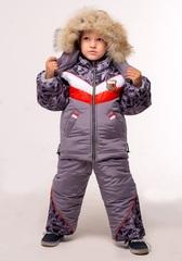 Зимний комбинезон-костюм Everest темно-серый