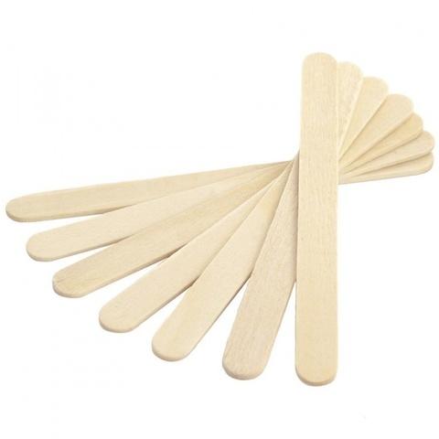 Шпатели деревянные нестерильные (100 шт)
