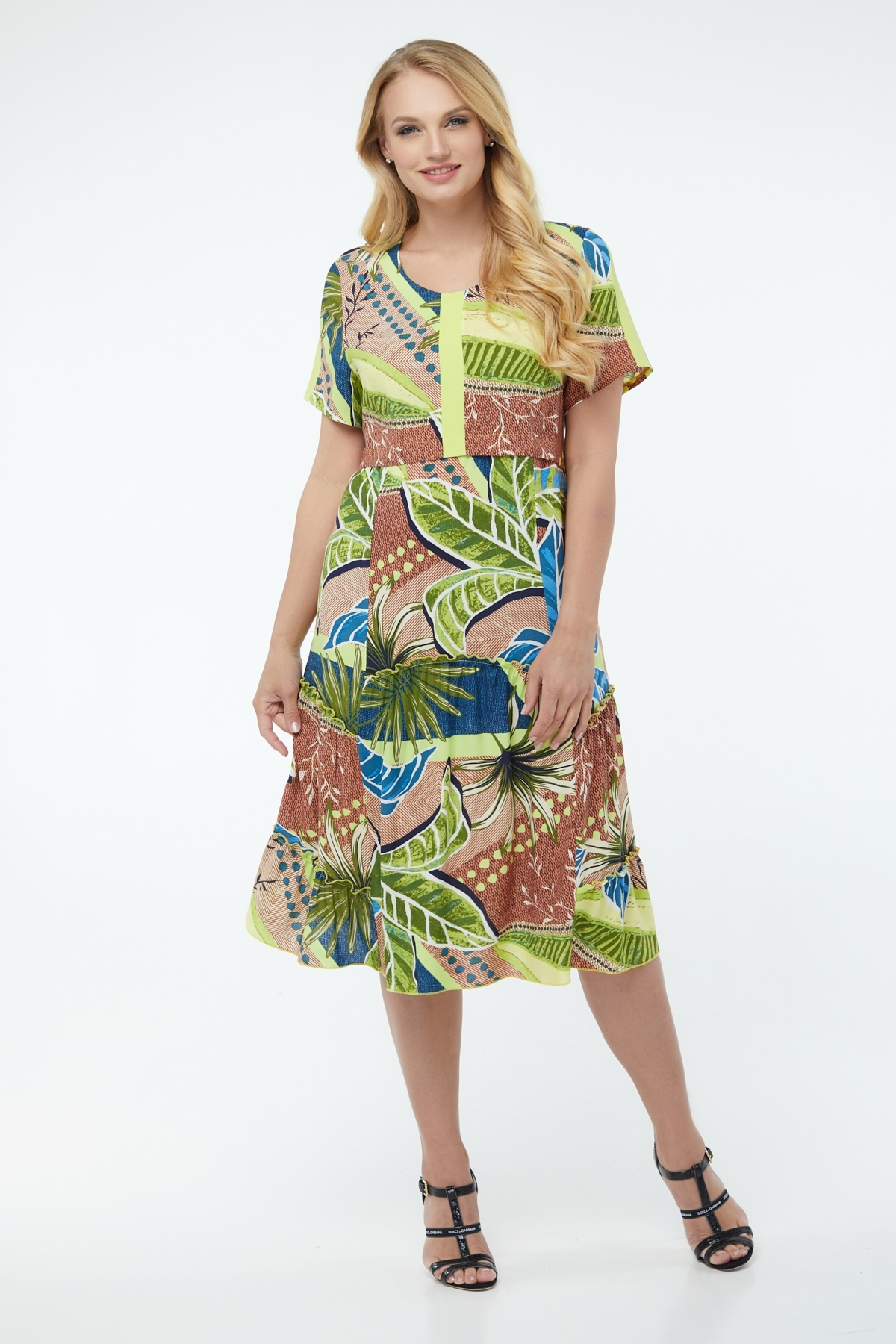 Платье Бруна (салатовый )