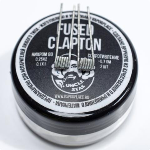 Fused Clapton Vapor Beard (NiCr 0,25х2 NiCr 0,1) 2,5мм 0,7 Ом (MTL)